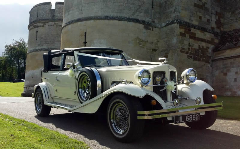 Beauford at Rockingham Castle